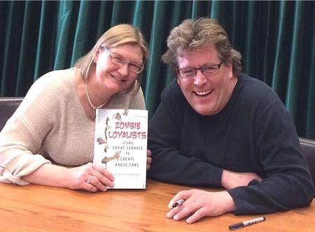 Marianne Schwab and Peter Shankman
